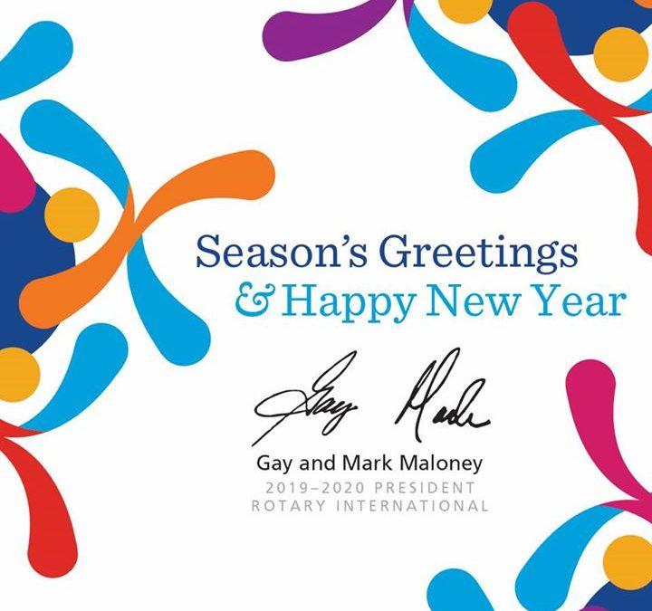 Happy Holidays from the Rotary family to yours! #RotaryClubOfGrandePrairie #RotaryInternational