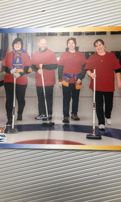The Friday Fireballers are still in the game! Come down to the curling rink…