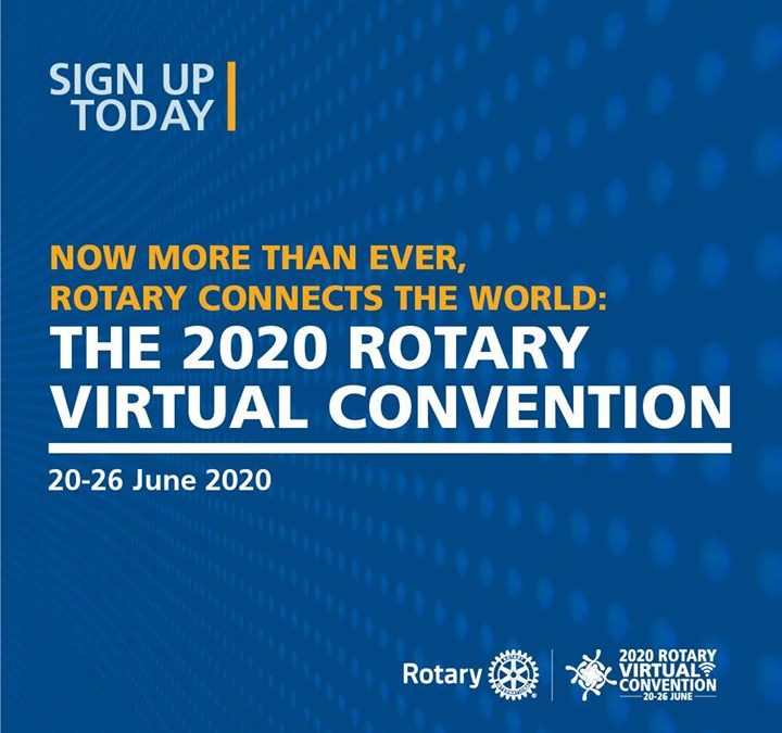 The Rotary Virtual Convention allows you to enjoy inspiring general sessions and educational breakout…