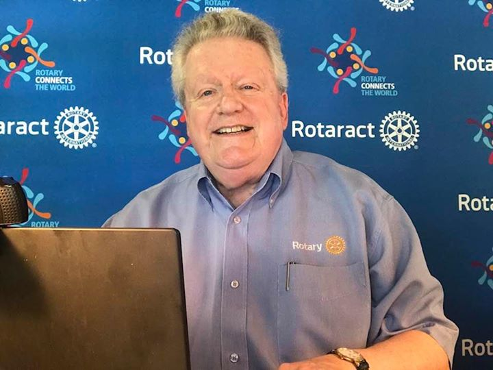 I'm getting ready for the Rotary Virtual Convention by showing my Rotary pride! How…