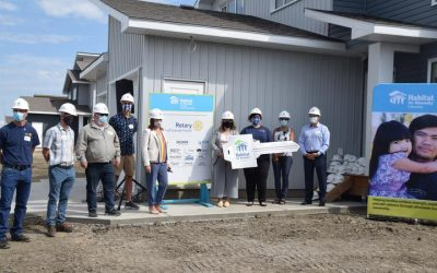 Construction of eight Habitat for Humanity houses in the the City of Grande Prairie…