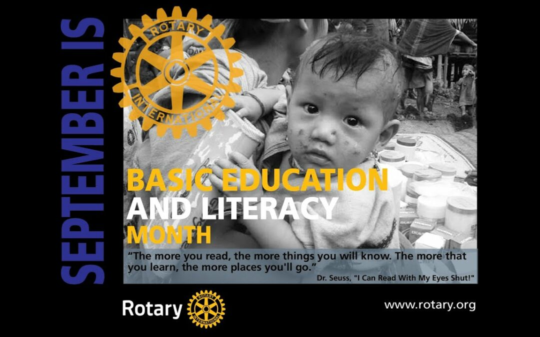 September is Basic Education & Literacy Month Check out this video message from DG…