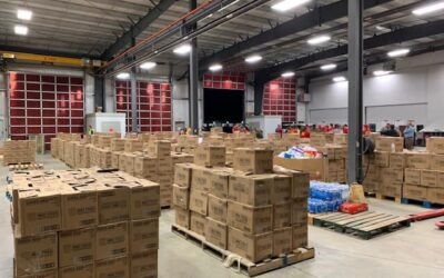 On the food drive, every can of food helps. On our virtual drive, any…