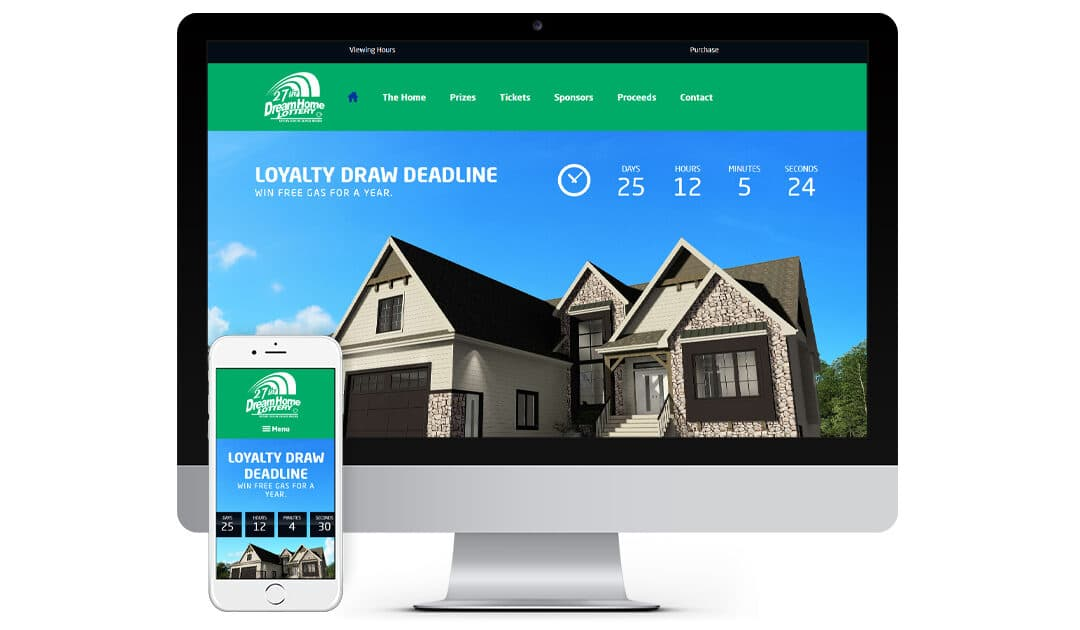 If you have a group looking to do some fundraising our Dream Home Lottery…