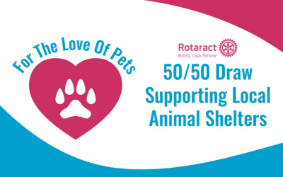 Grande Prairie Rotaract Club is hosting a 50/50 raffle with proceeds to our 2…