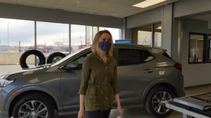 We gave away a car today!